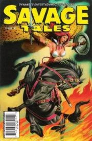 Savage Tales #4 Cover B David Michael Beck Red Sonja
